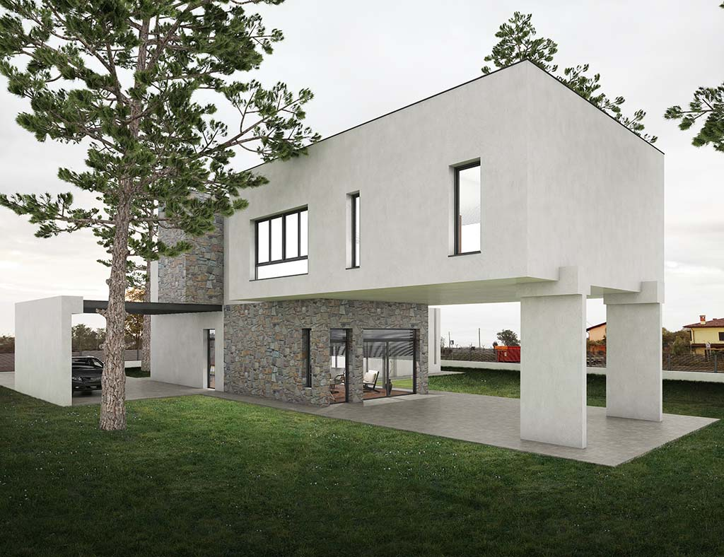 Diseño chalet moderno CHESTER 4