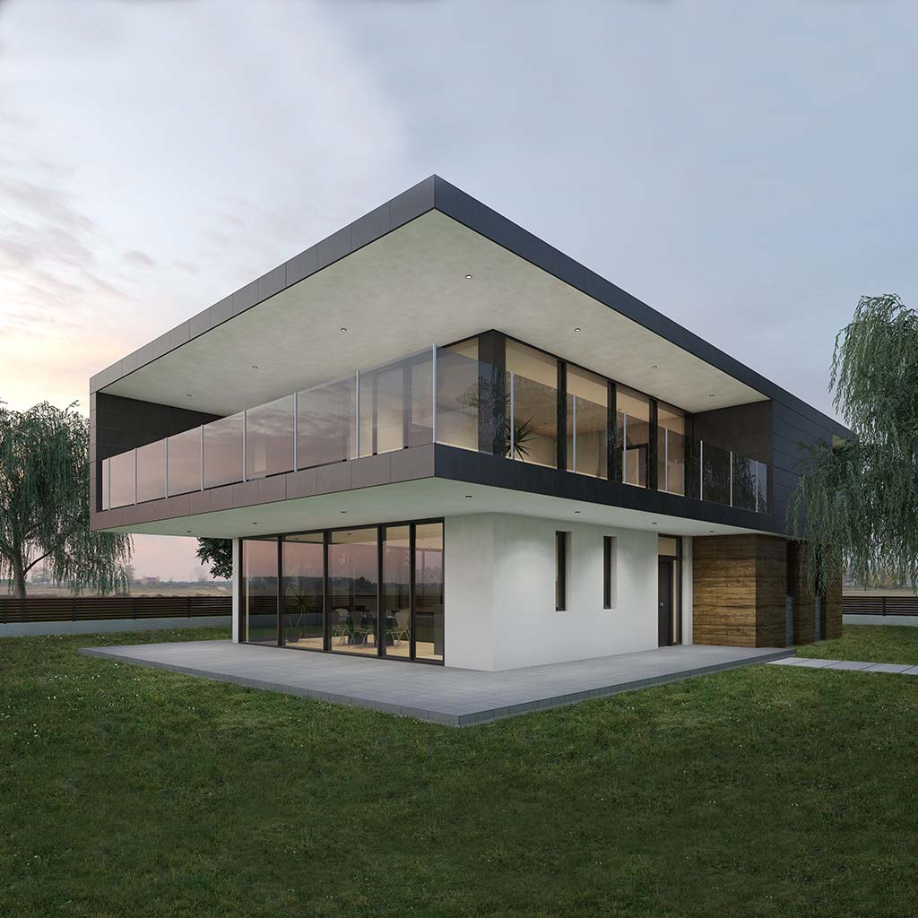 diseño casa moderna JEREM