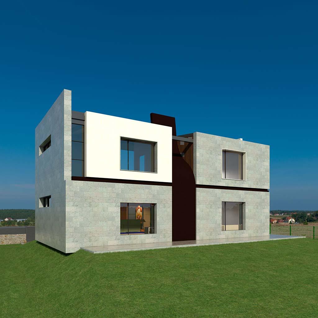 Casa Chalet moderno RENA-02