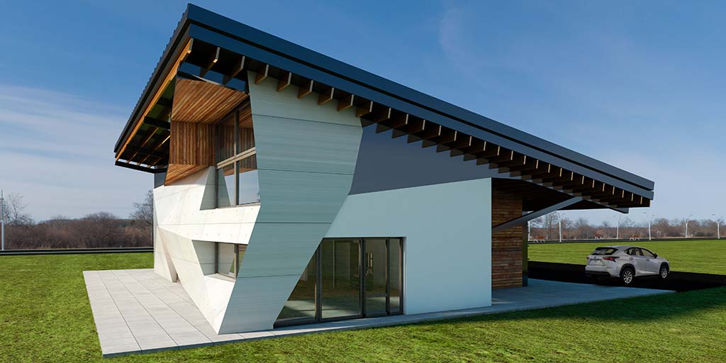 Diseño Casa moderna SIT-02