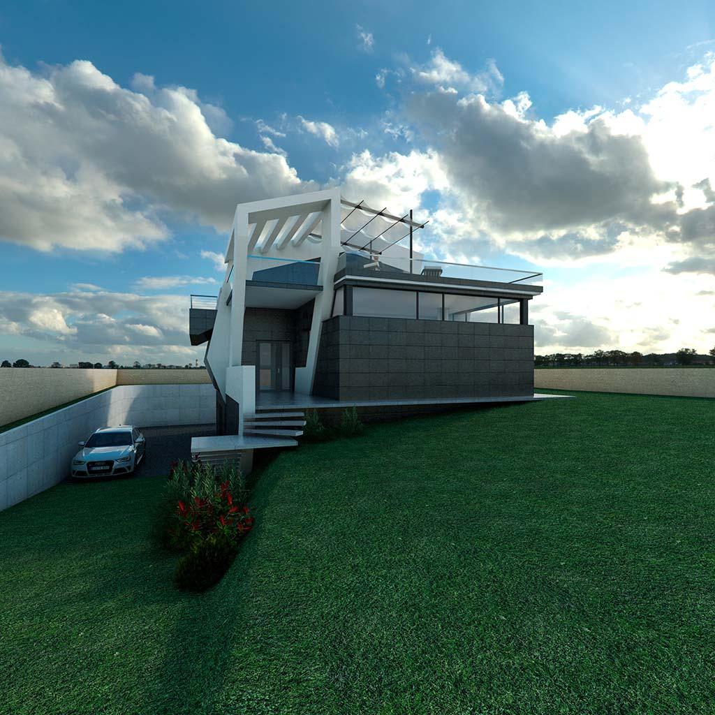 Diseño Casa moderna TIARA-02