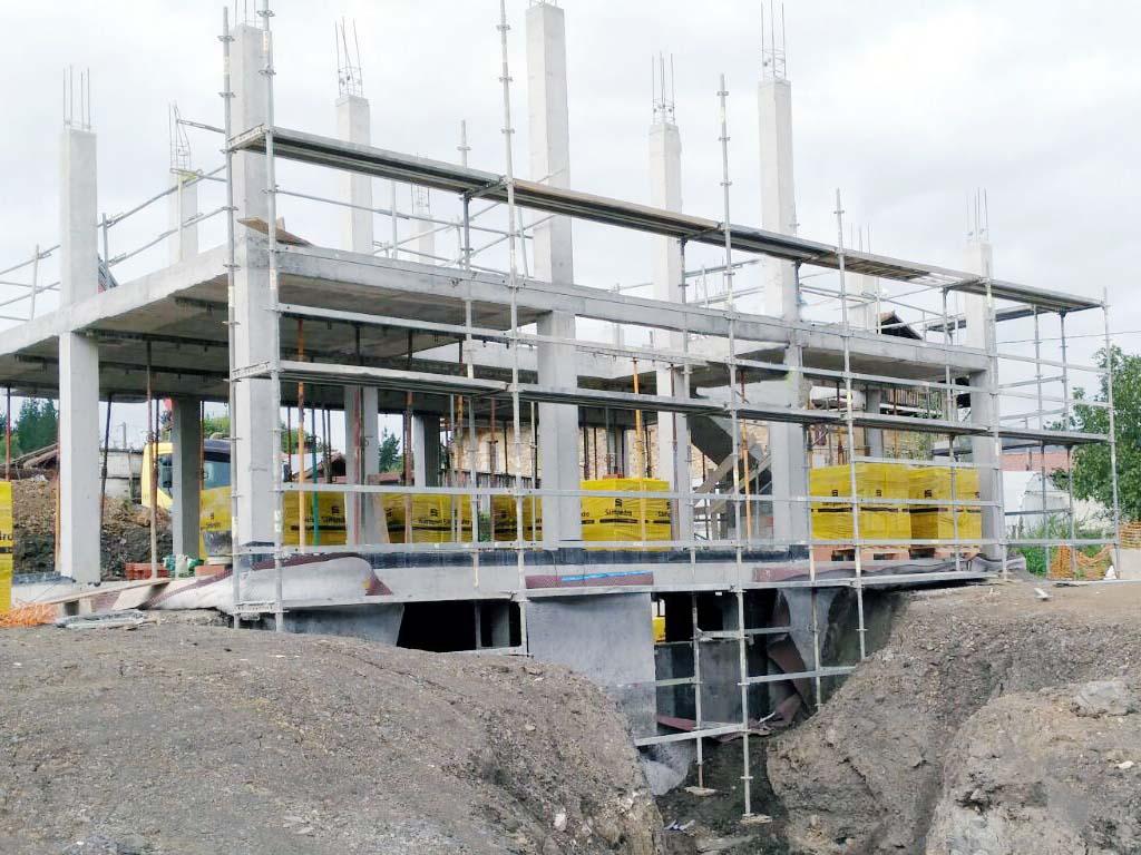Construcción estructura hormigón