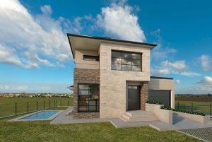 Diseño casa piedra 2