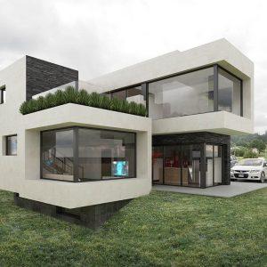 Diseño construir casa ARANJUEZ