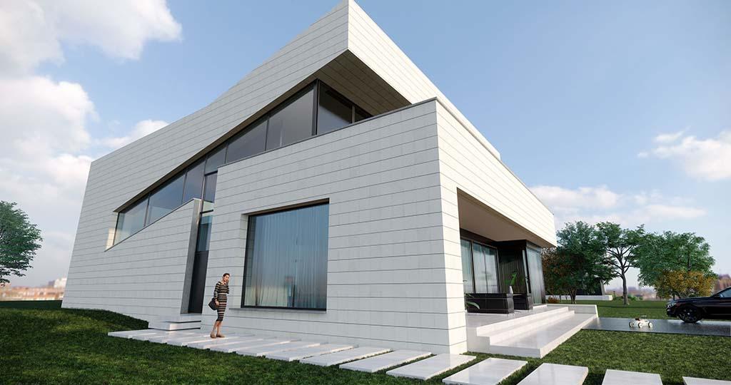 Diseño casa moderna NIAL 1
