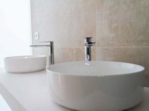 Acabado baños construcción chalet