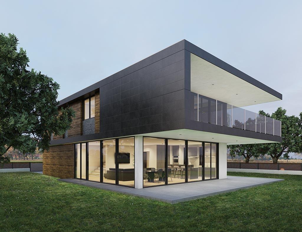 diseño casa moderna JEREM 2
