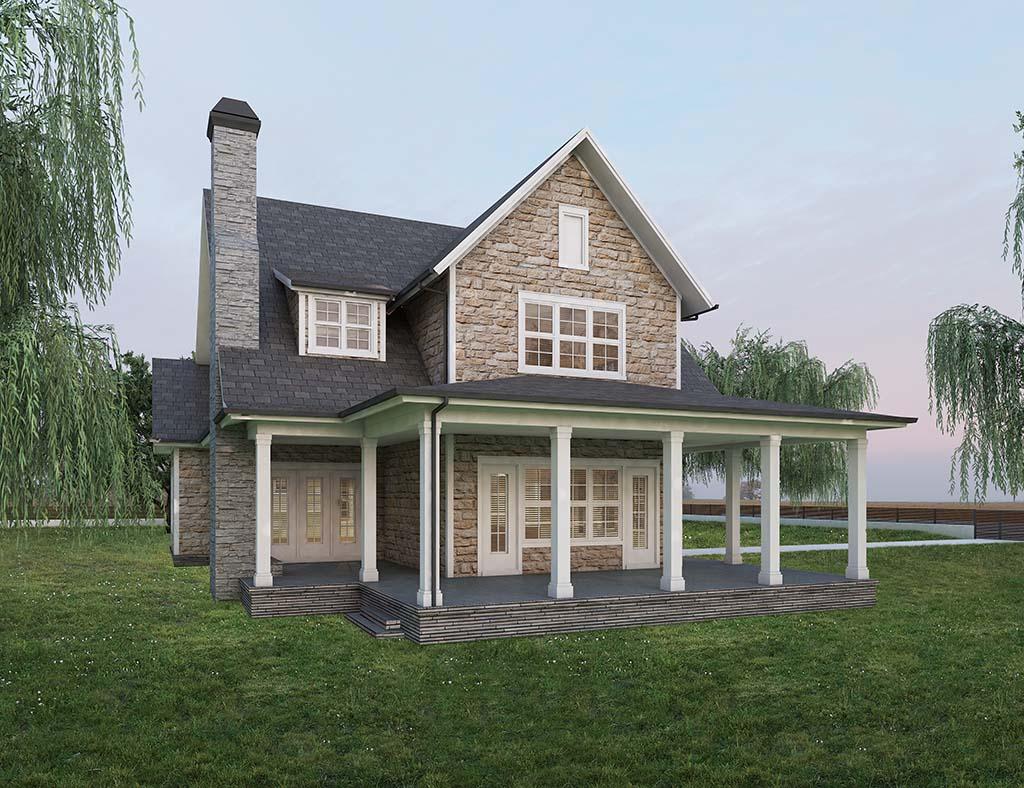 diseño casa tradicional ELOM 2