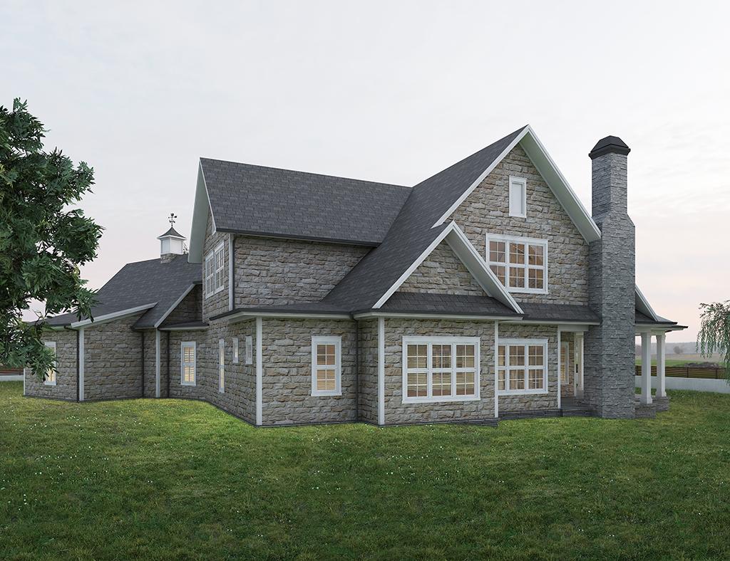 diseño casa tradicional ELOM 3