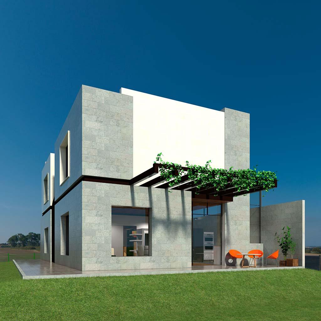 Casa Chalet moderno RENA-01