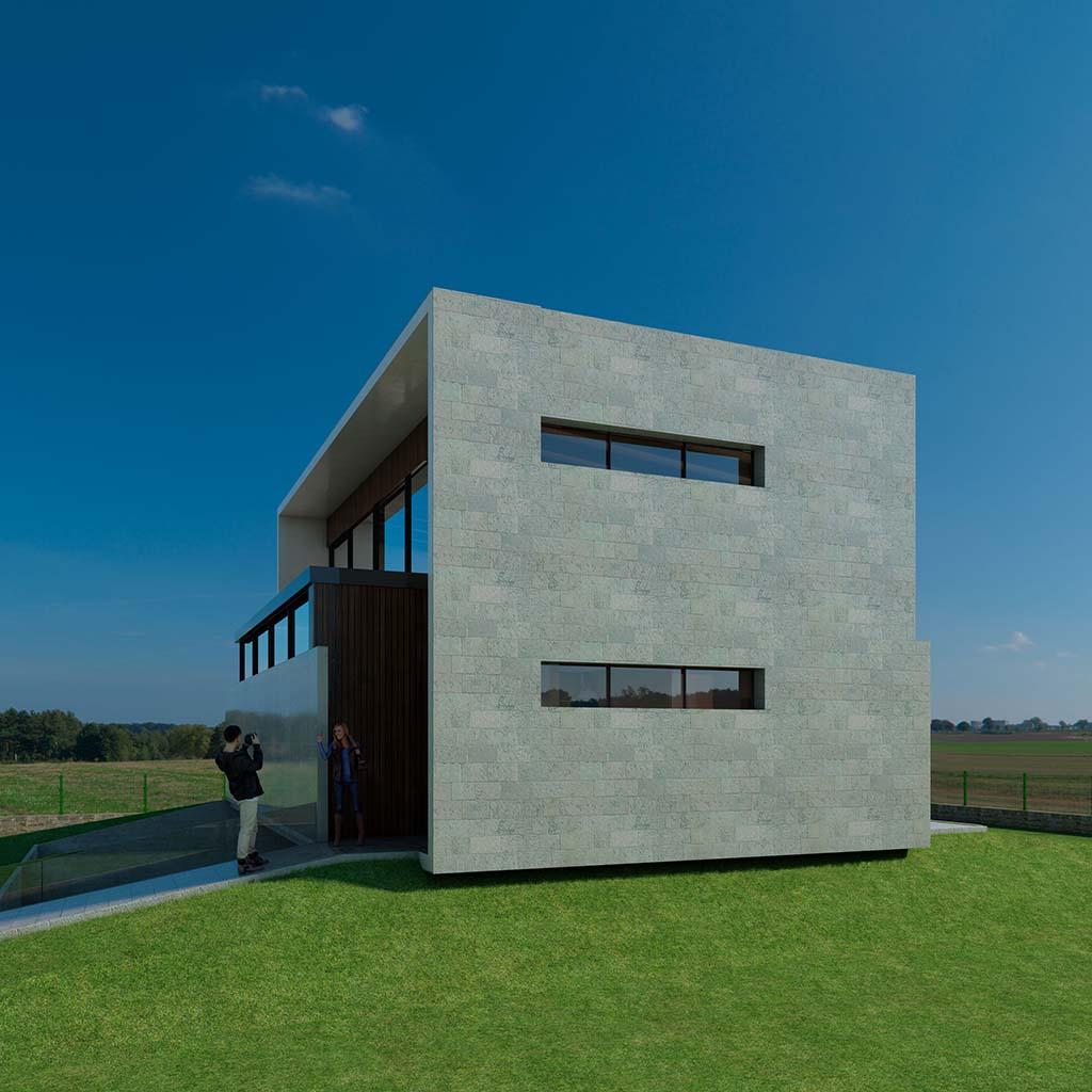 Casa Chalet moderno RENA-03