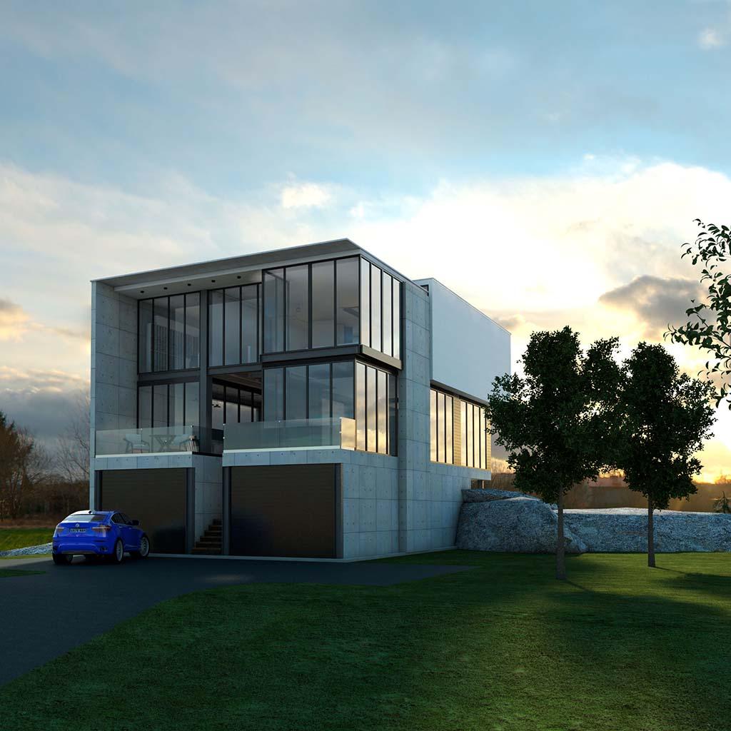 Casa Chalet moderno ROC-02