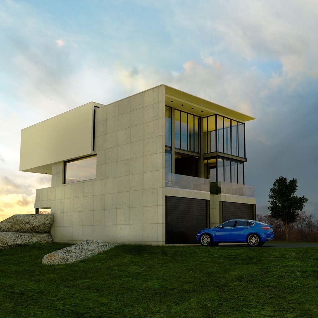 Casa Chalet moderno ROC-03