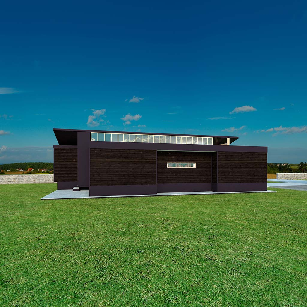 Casa Chalet moderno RODION_03