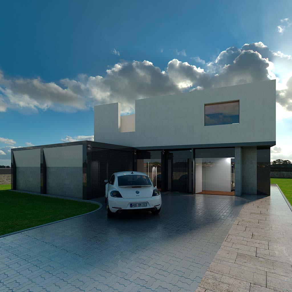 Casa Chalet moderno TAMAR-00