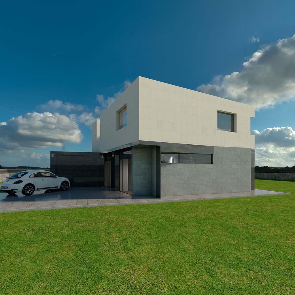 Casa Chalet moderno TAMAR-03
