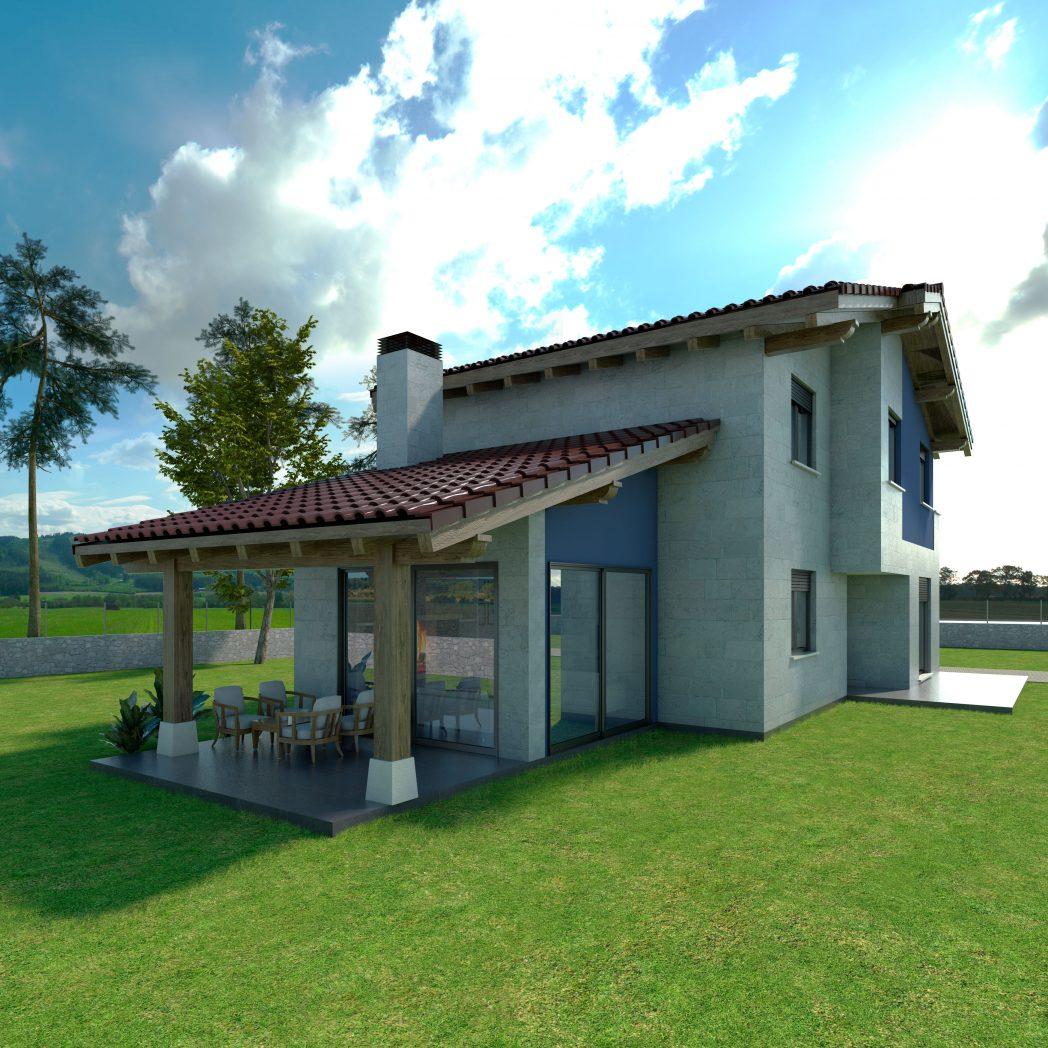 Diseño Casa Chalet SANTEL 2