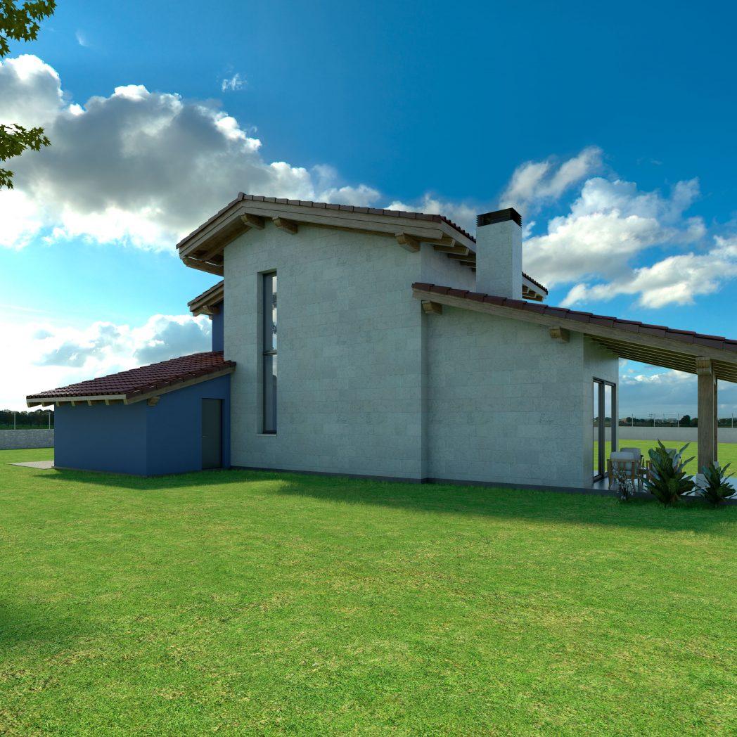 Diseño Casa Chalet SANTEL 3
