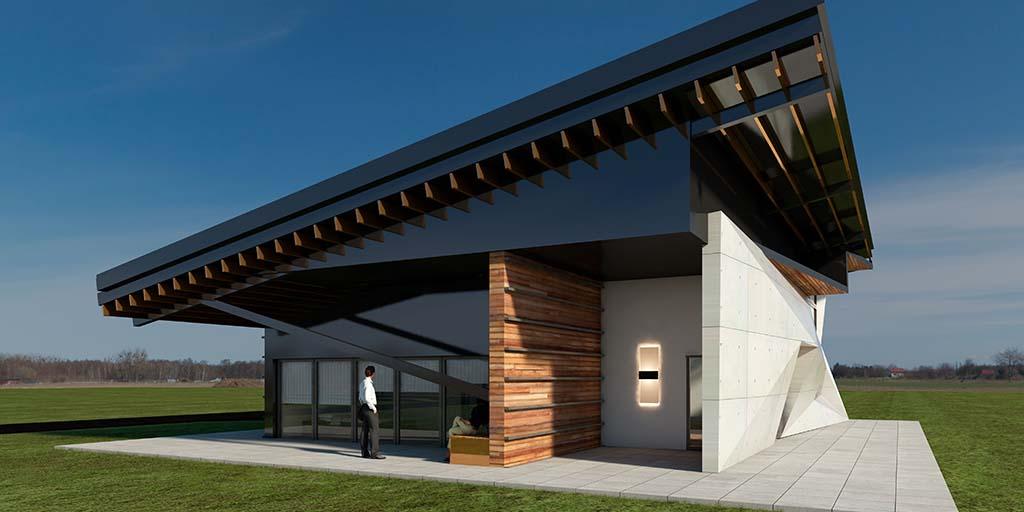 Diseño Casa moderna SIT-00