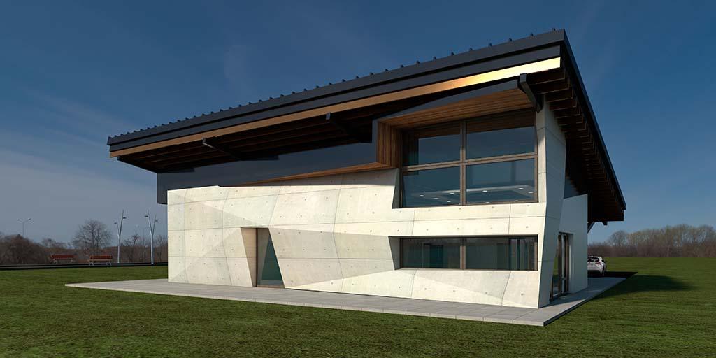 Diseño Casa moderna SIT-01