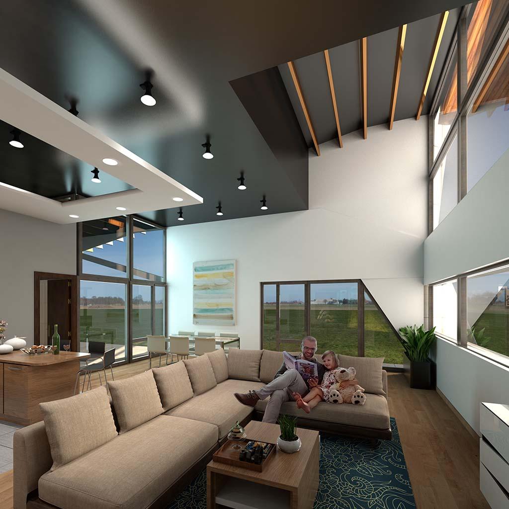 Diseño Casa moderna SIT-04