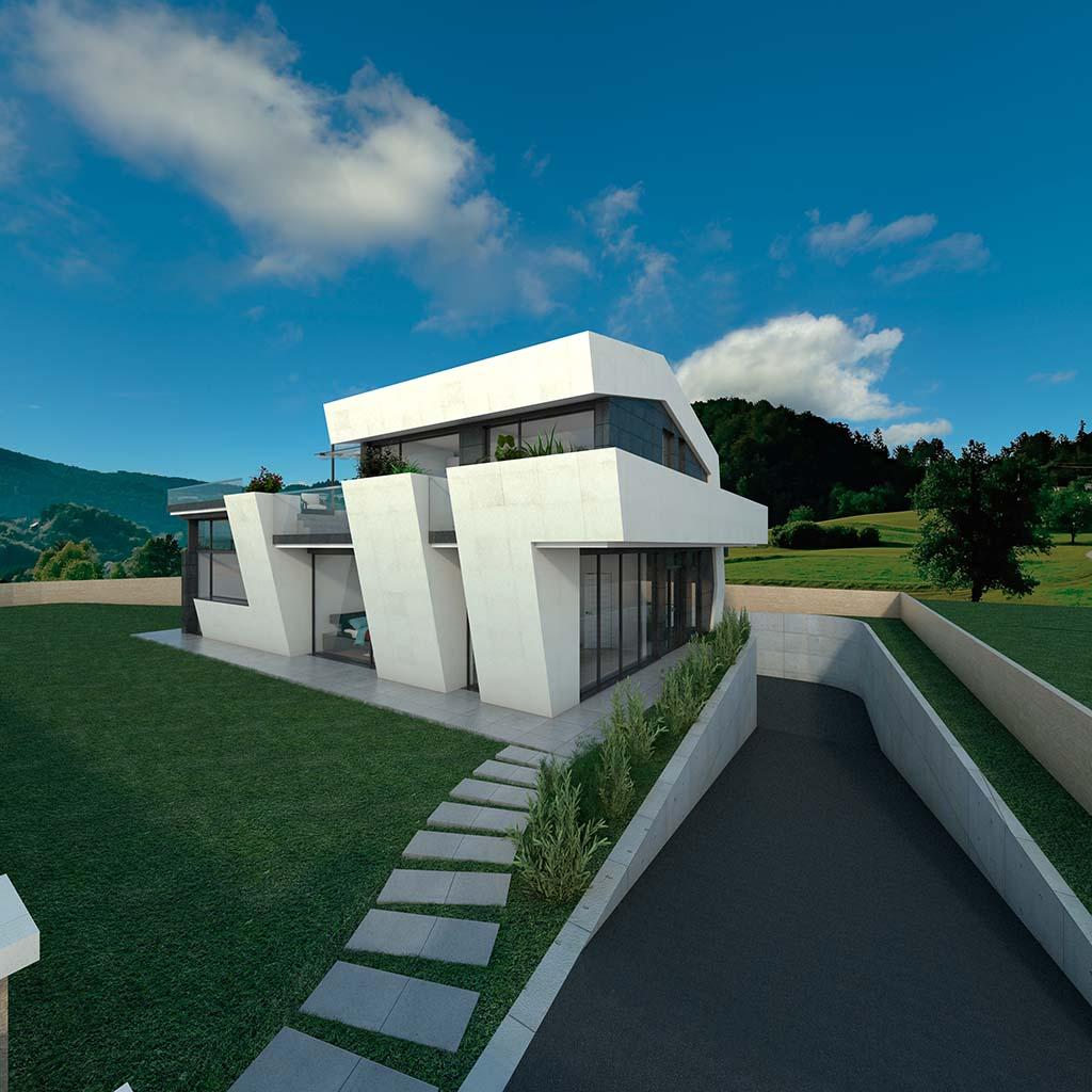 Diseño Casa moderna TIARA-00