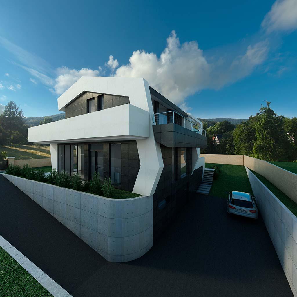 Diseño Casa moderna TIARA-03