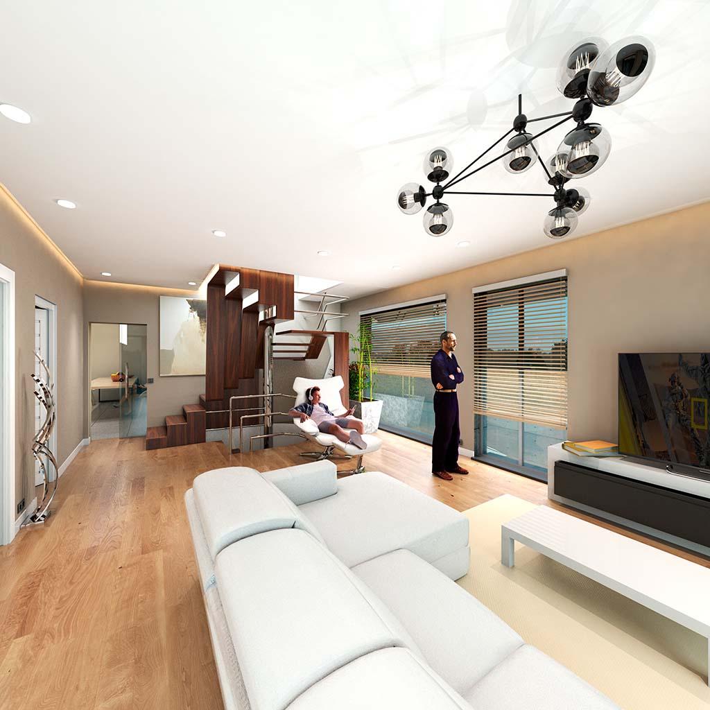 Diseño Casa moderna TIARA-04