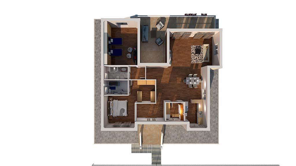 Diseño casa tradicional RUBRIOL.TOP