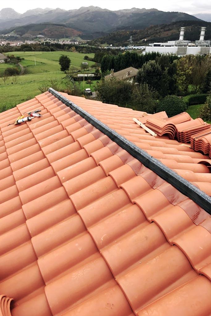 Obra tejado