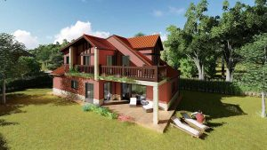 Diseño casa tradicional