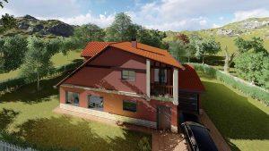 Diseño casa tradicional 2