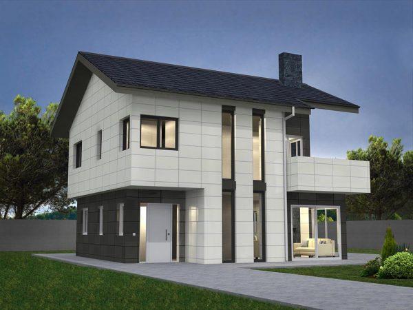 Diseño de casa para construir ADEMIA