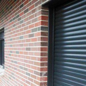 Detalle fachada ladrillo carvista