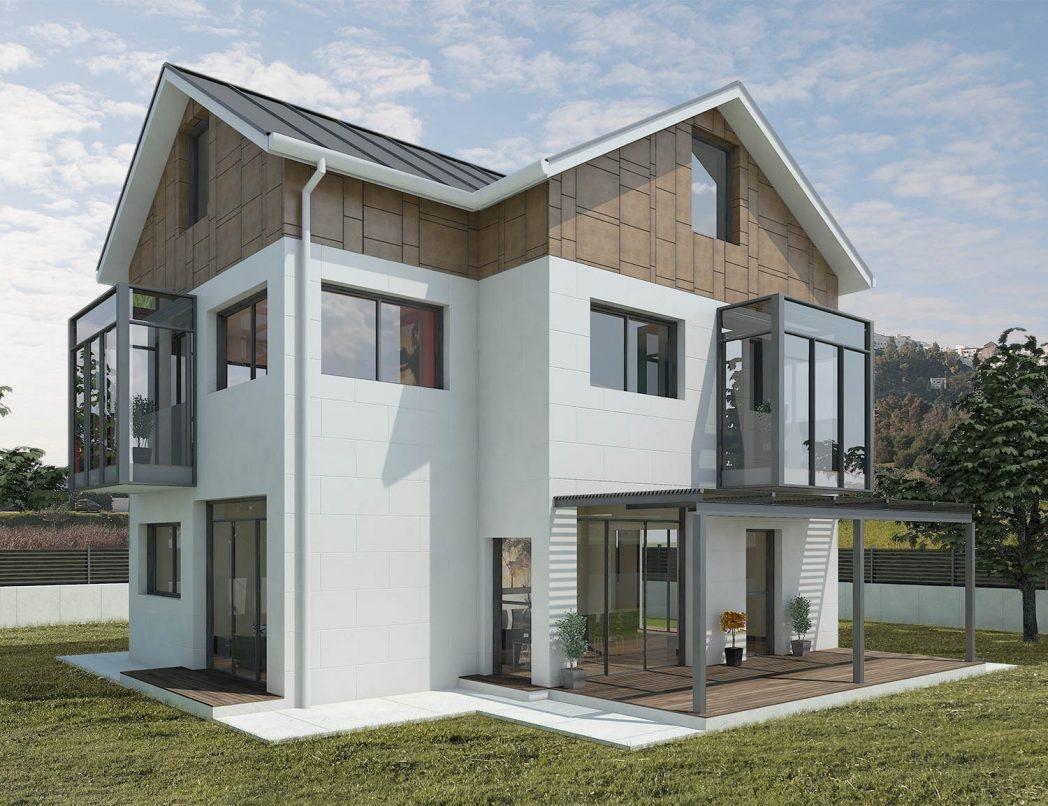 Construcción de casa EMERALD