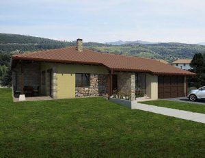 Diseño construir casa VILLAGE 2