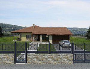 Diseño construir casa VILLAGE 3