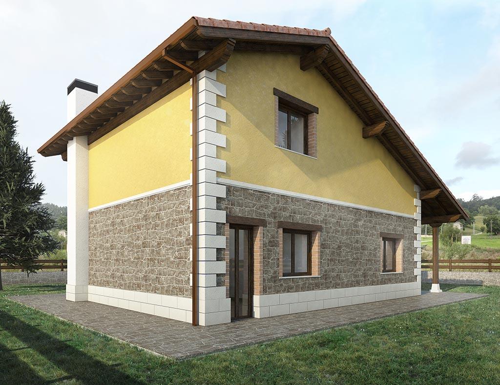 Construcción de casas PINTO 3