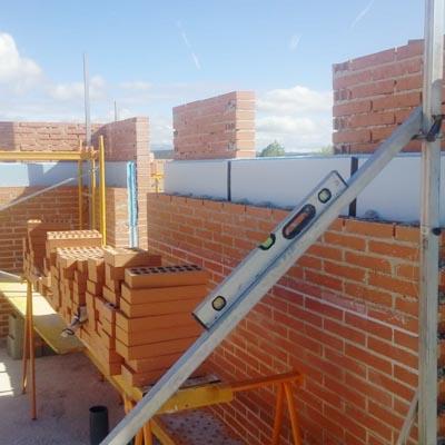 01 Construccion casa Aldea Fresno Square