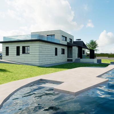 04 Diseño Casa Villaviciosa de Odon square B