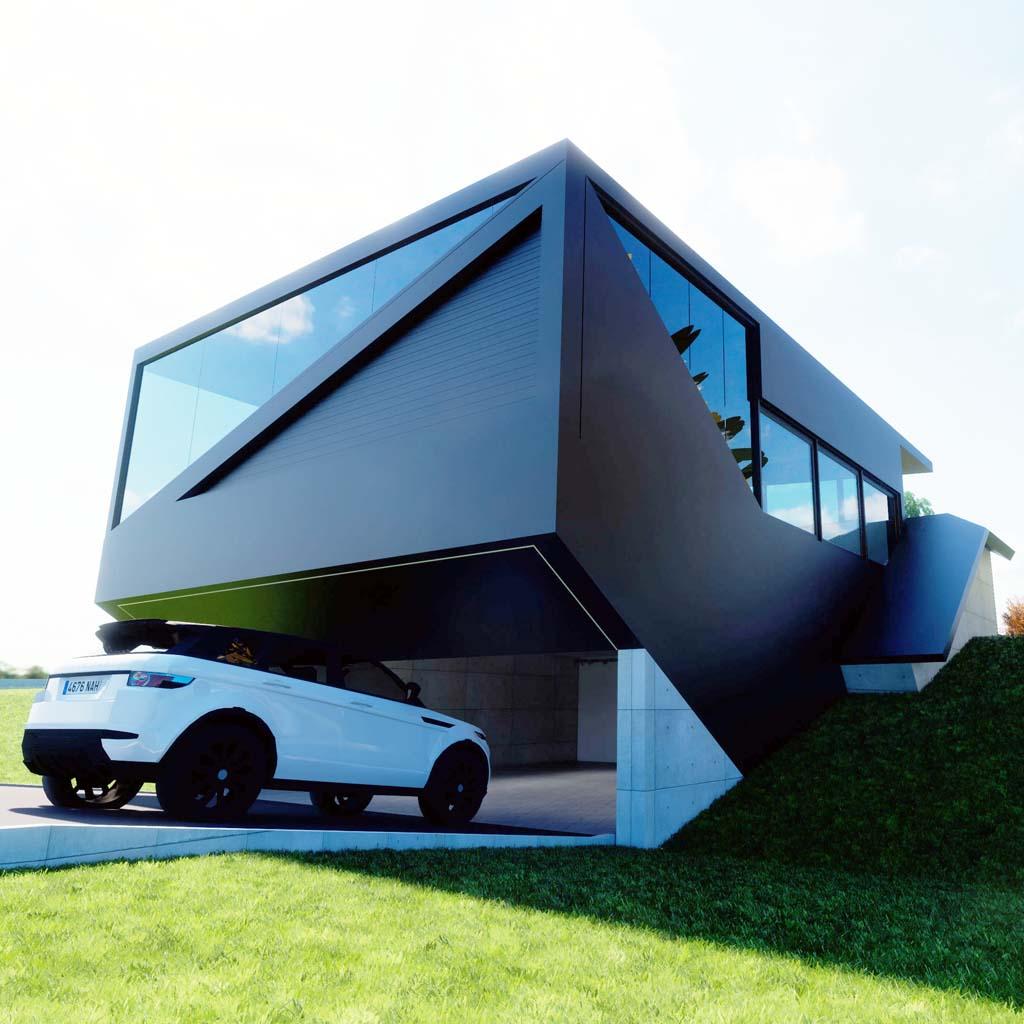 Diseño construccion casa KANTIA 1