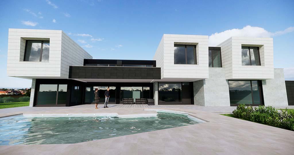 Diseño construccion casa MENTHA 2