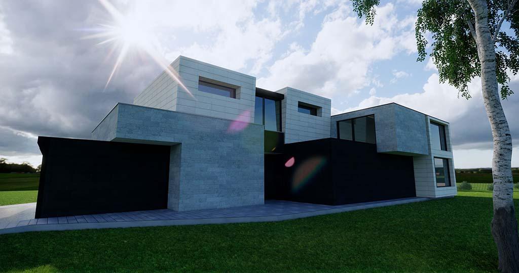 Diseño construccion casa MENTHA 5