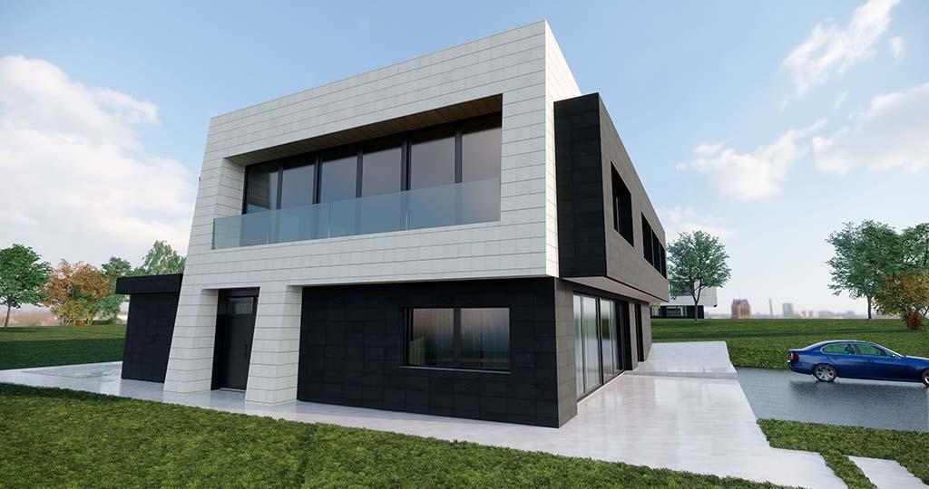 Diseño construir casa MERION 1