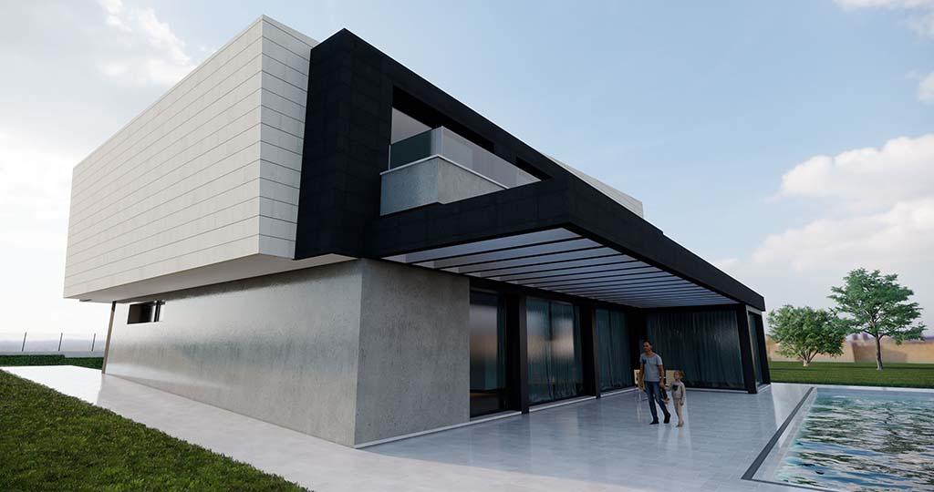 Diseño construir casa MERION 3