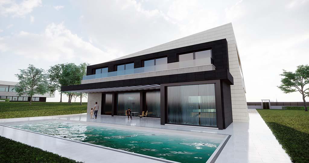 Diseño construir casa MERION 4