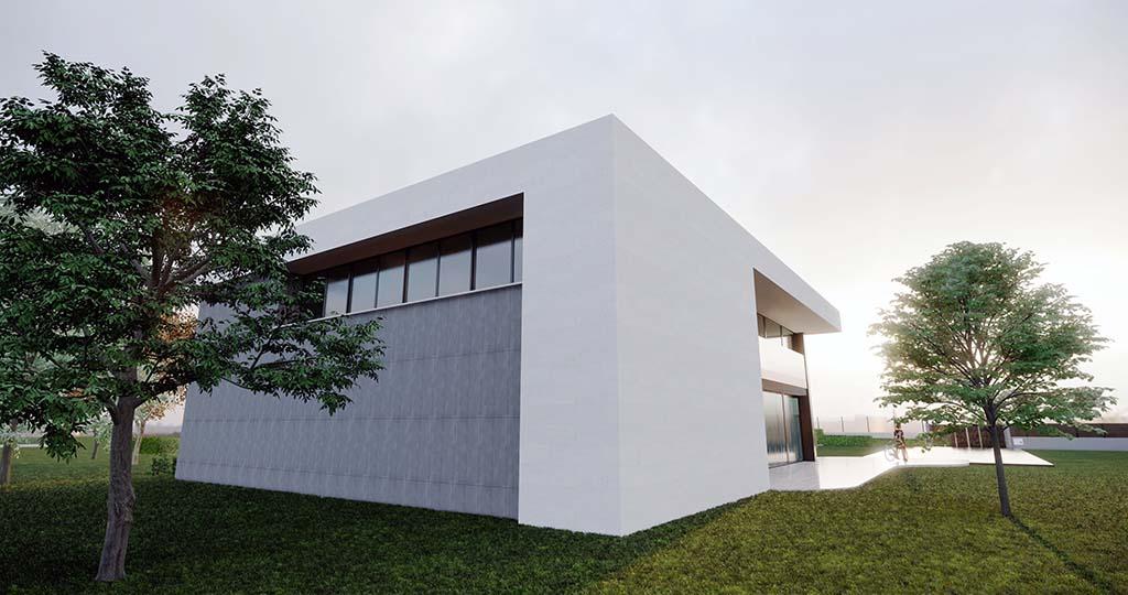 Diseño casa moderna MYSTRAL piscina 3