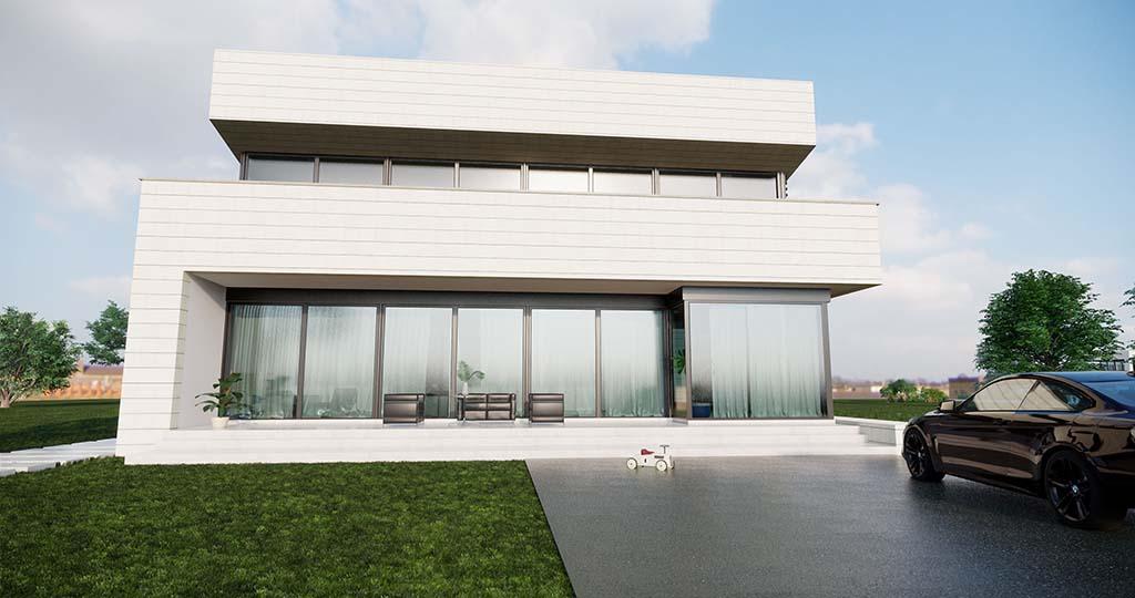 Diseño casa moderna NIAL 2