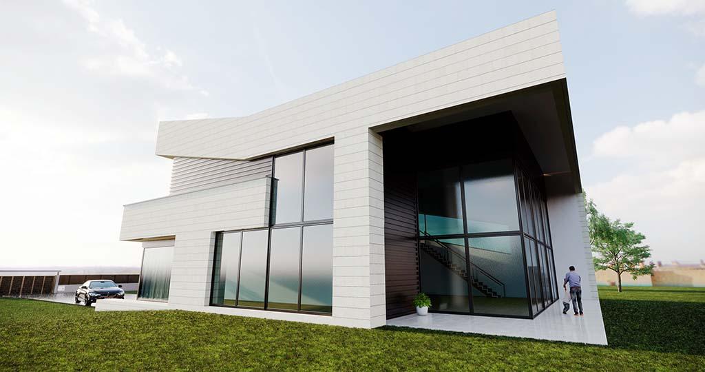 Diseño casa moderna NIAL 3