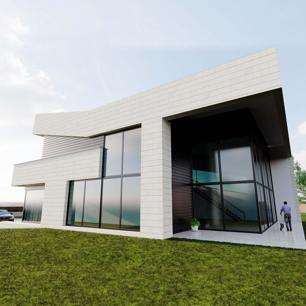 Diseño casa moderna NIAL ft